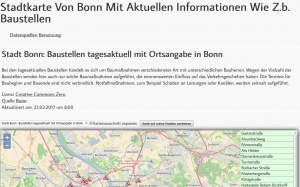Themenkarten mit Open Data